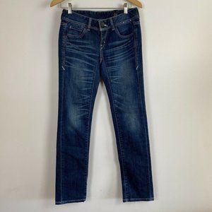 Levi Strauss Levis Womens Denim Skinny Jeans Sz S